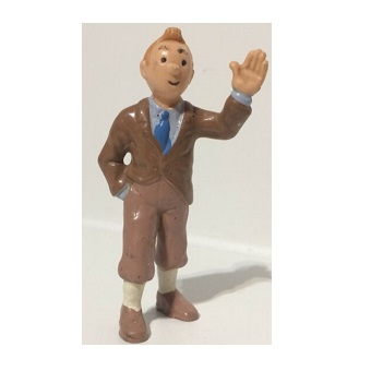 Tintin figurine de collection HERGE Bully