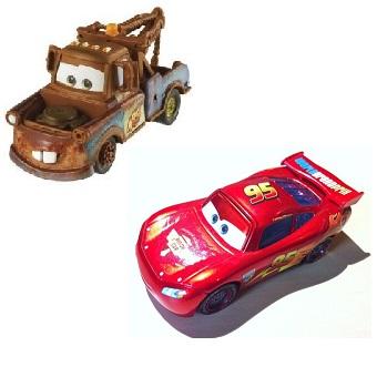 Flash McQueen et Martin Cars 2 Disney/Pixar