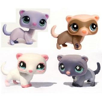 4 Furets Pet Shop (LPS) Hasbro