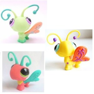 3 Papillons Pet Shop (LPS) Hasbro