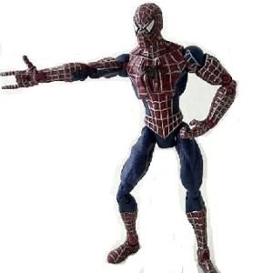 Spiderman foncé 2007 Marvel Hasbro 13 cm