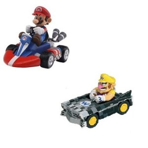 Voitures Mario Kart Mario et Wario