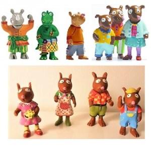 Zamiloo 10 figurines DJECO.