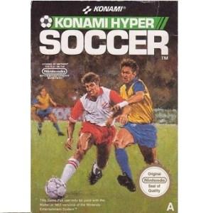 Konami Hyper SOCCER Jeu Nes Original