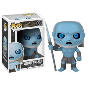 White WALKER POP N°6 Games of Throne neuf dans sa boite d'origine.