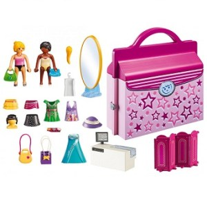 Playmobil 6862 Fashion Girls Magasin Transportable complet