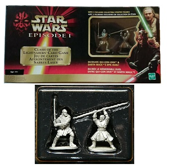 Jeu Star Wars Episode I Jeu de carte affrontement des sabres laser Jeu de 1999.