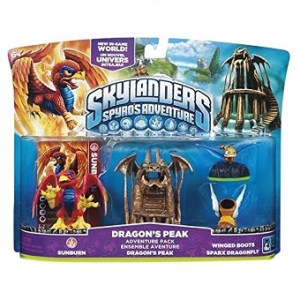 Dragon's peak skylanders