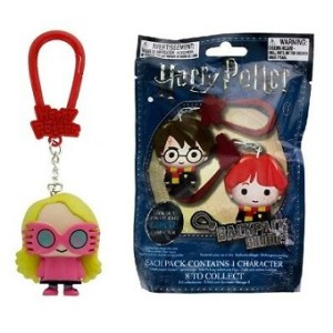 Luna Lovegood figurine en 3D pour sac a dos a collectionner.