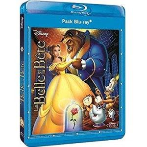 La Belle et La Bête BluRay+DVD Disney N°36