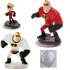 Les Indestructibles Disney Infinity 3 figurines + Mondes