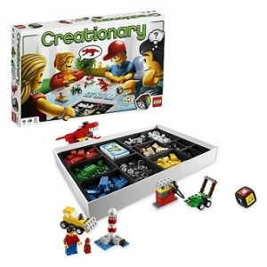 Creationary Jeu de Societe Lego Games Lego 3844