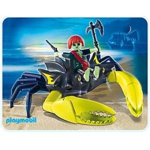 Playmobil 4804 Pirate Fantôme et crabe géant Complet