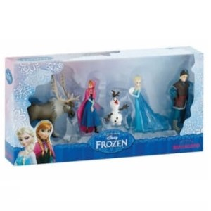 La Reine des Neiges Coffret 5 mini figurines Frozen Bullyland Neuf