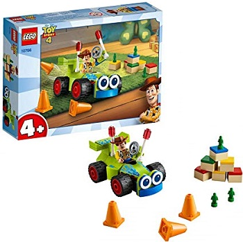 LEGO Toy Story 4 10766 Woody et RC Neuf Boite légèrement enfoncé au dos.