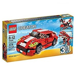 LEGO Créator 31024 Le Bolide Rouge Complet (d'occasion).