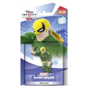 IRON FIST DISNEY INFINITY 2.0 figurine Marvel SUPER HEROES.