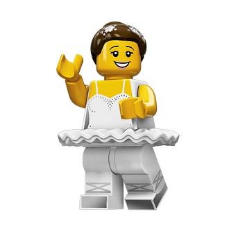 Danseuse Minifigurine LEGO série 15 Ballerine