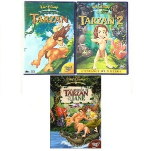 Trilogie Tarzan DVD Disney