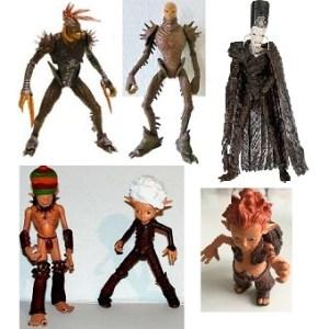 Arthur et les Minimoys 6 figurines d'occasion