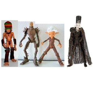Arthur et les Minimoys 4 figurines Europacorp Lansay 2006