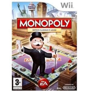 Monopoly édition classique et Monde Wii d'occasion