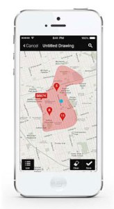 The Royal LePage App's Draw Tool is an interactive feature that allows users to outline an area they're interested in, and save it to their personal preferences. Users receive notifications about new listings, price changes and open houses within that area, so they are always in the know.