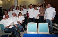 Attendees of the Royal LePage Prime Real Estate Royal Roll 'N Bowl for Shelter.
