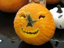 Winning pumpkin from Teresa Fomari, admin assistant to the Jack Scott team.