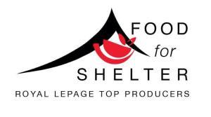 RLP Top Producers - Food for Shelter logo