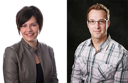 Brandi Wolff and Denis Landry have joined the Royal LePage network