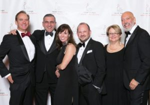 Royal LePage CEO Phil Soper, with Shelter Gala guests and Royal LePage sales representatives Ara Yeremian, Tracey Flanigan, Colby Bayne, Joanne Tibbles and Steve Kotan.