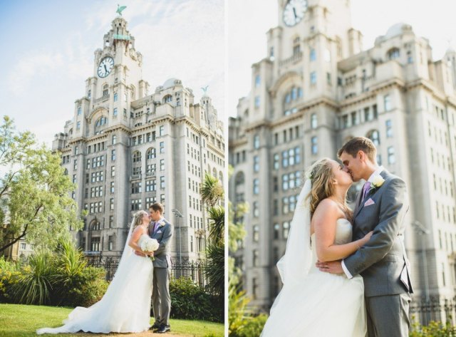 the Royal Liver Building is the perfect wedding venue liverpool
