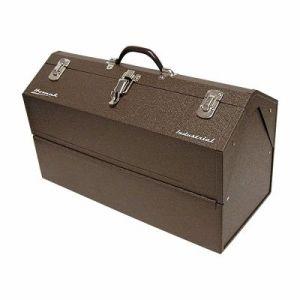 Homak Industrial 22-Inch Cantilever Steel Toolbox, Brown Winkle Powder Coat