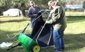 How to Assemble a Lawn Sweeper