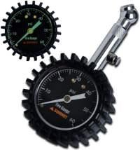 Summit Tools Tire Pressure Gauge with Glow Dial