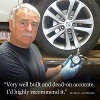 TireTek Premium Car Tire Pressure Gauge 60 PSI - Heavy Duty Tire Gauge ANSI Certified