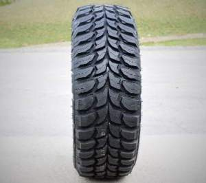 CROSSWIND Set of 4 (FOUR) Crosswind MT Mud-Terrain Tires-33X12.50R18LT 118Q LRE 10-Ply