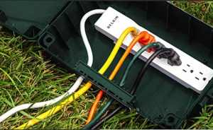 How to Run Extension Cord from Inside to Outside
