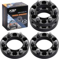 """KSP Forged 1.25"""" 6x5.5 to 6x5.5 Wheel Spacers (Set of 4)"""