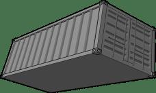 Présentation d'un conteneur destiné à une expédition