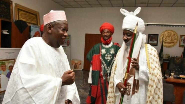 Ganduje finally sacks Emir Sanusi