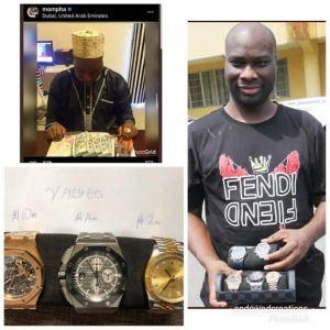 Internet celebrity, Mompha arrested over alleged fraud, others