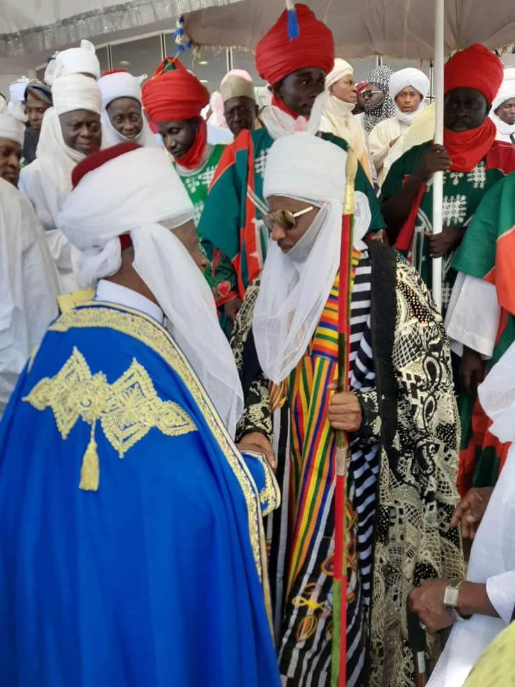 Breaking....Ganduje offers Emir Sanusi new appointment