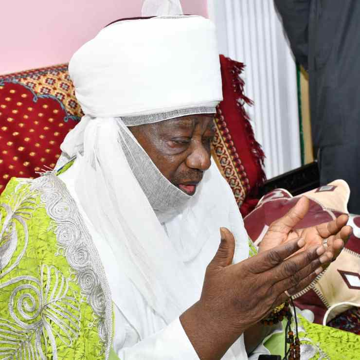 Emir of Ilorin thanks Buhari over Gambari's appointment as CoS
