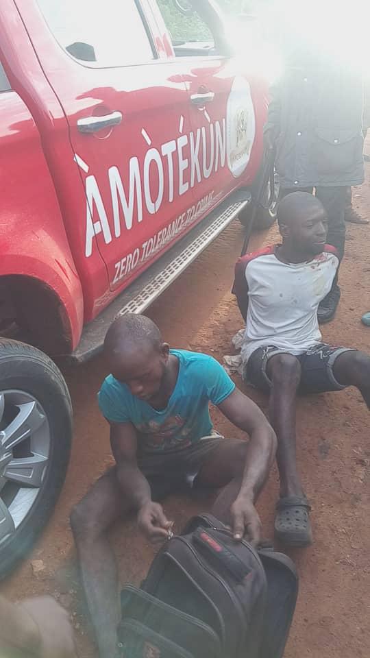 Wow...Operation Amotekun records success in Osun