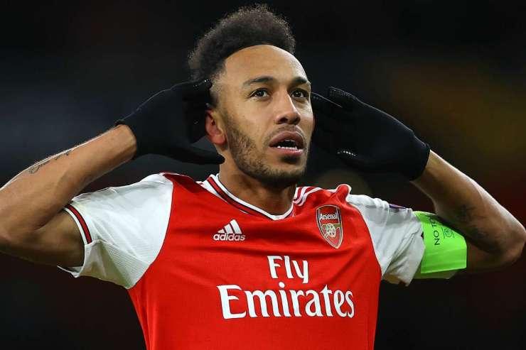 Aubameyang fires Arsenal past Man City into FA Cup final