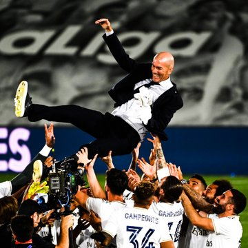REAL MADRID BEATS VILLAREAL 2-1 TO WIN THEIR 34TH LEAGUE TITLE