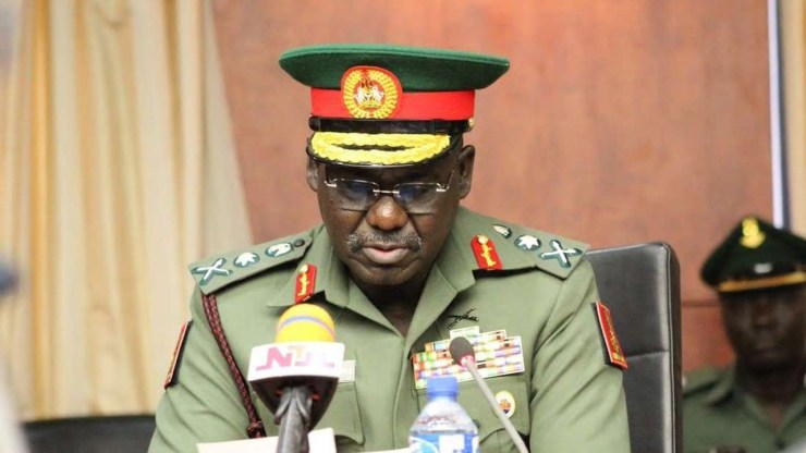 Buratai urges Army personnel to be courageous, bold