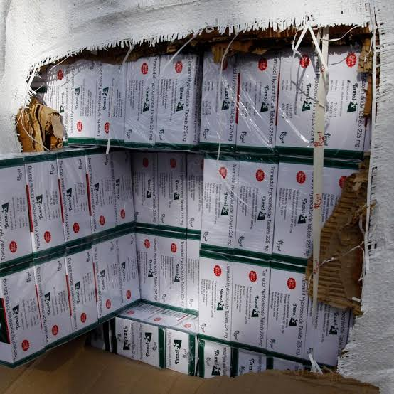 NDLEA intercepts 607 cartons of tramadol